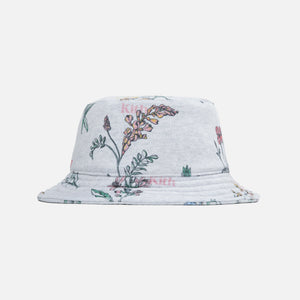Kith Botanical Floral Bucket Hat - Light Heather Grey