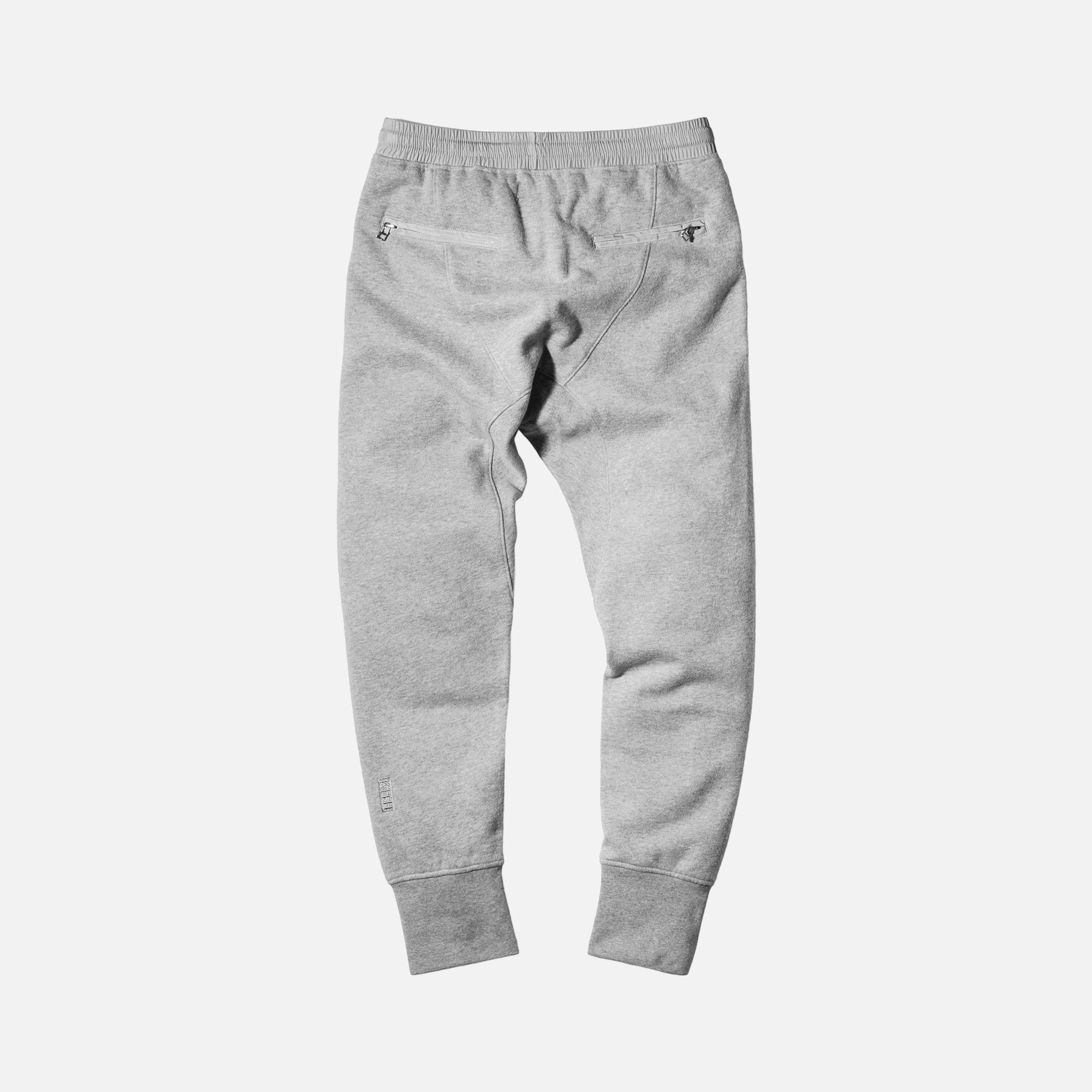 Kith Bleecker Sweatpant - Heather Grey