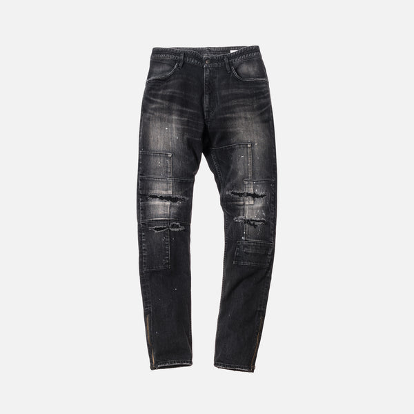 Kith x nonnative Patchwork Denim - Black