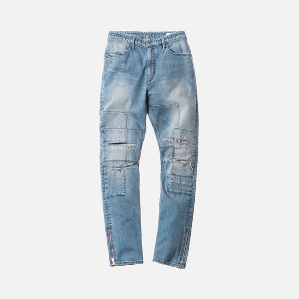 Kith x nonnative Patchwork Denim - Blue