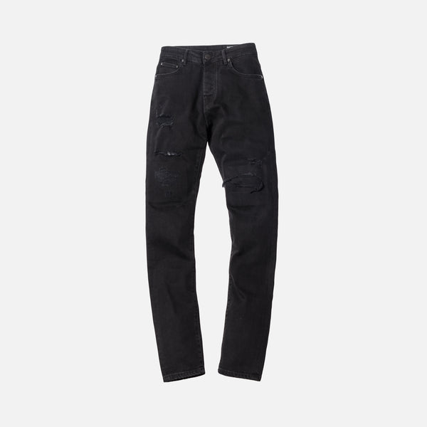 Kith Monroe Destroyed Denim - Black