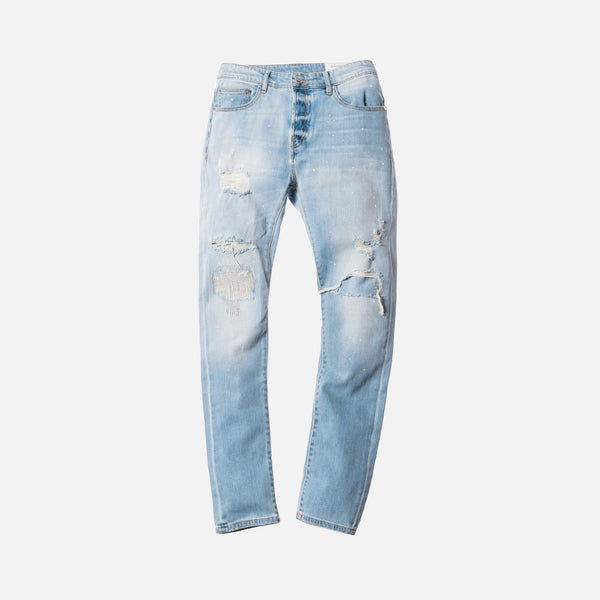 Kith Monroe Destroyed Denim - Hosu Blue