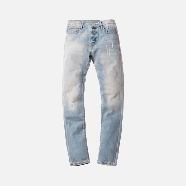 Kith Monroe Washed Denim Pant - Hosu Blue