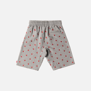 Kith x Coca-Cola Cherries Bleecker Short - Heather Grey