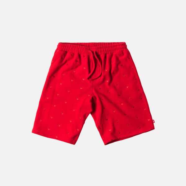 Kith x Coca-Cola Cherries Bleecker Short - Red