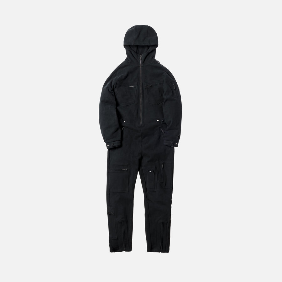 Kith Prescott Fleece Coverall - Black