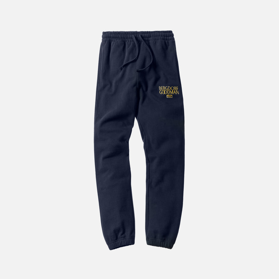 Kith x Bergdorf Goodman Williams Sweatpant - Navy