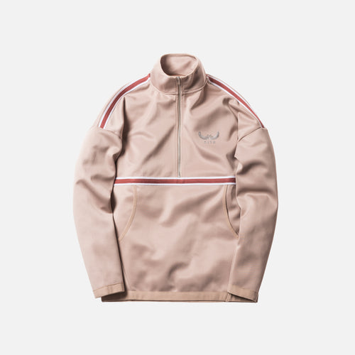 Kith Half-Zip Track Jacket - Tan