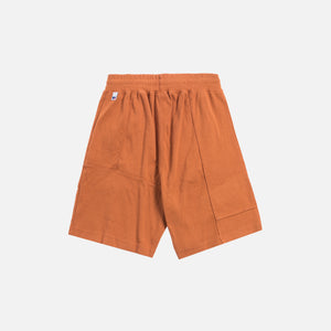 Kith x Russell Athletic Reverse Shorts - Amber Brown