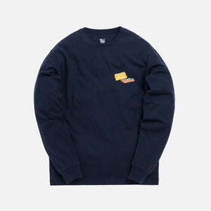 Kith x Tom & Jerry L/S Cheese Tee - Navy