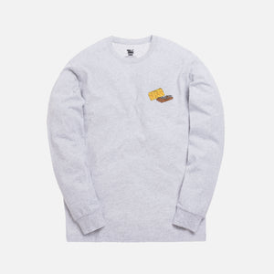 Kith x Tom & Jerry L/S Cheese Tee - Light Heather Grey