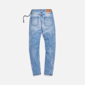 Kith x Disney Varick Denim 5 Pocket - Indigo