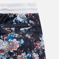 Kith Floral Panel Active Short - Navy / Multi Thumbnail 1