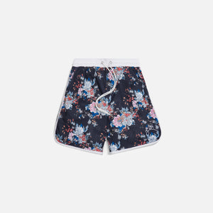 Kith Floral Panel Active Short - Navy / Multi