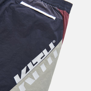 Kith Colorblocked Sporty Short - Navy / Multi Image 5