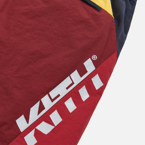 Kith Colorblocked Sporty Short - Red / Multi Image 5