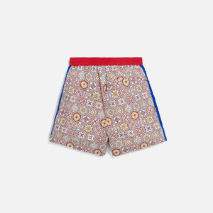 Kith Printed Shorts w/ Side Panel - Brown / Multi Image 3