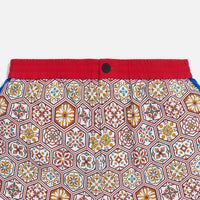Kith Printed Shorts w/ Side Panel - Brown / Multi Thumbnail 1
