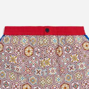 Kith Printed Shorts w/ Side Panel - Brown / Multi Image 5