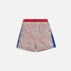 Kith Printed Shorts w/ Side Panel - Brown / Multi Image 1