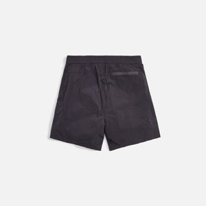 Kith Solid Sporty Wrinkle Short - Battleship