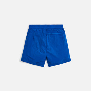 Kith Solid Sporty Wrinkle Short - Surf The Web