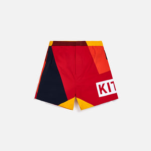 Kith Spring Madison Short - Red / Multi