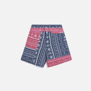 Kith Patchwork Bandana Hardaway - Red / Navy / Multi