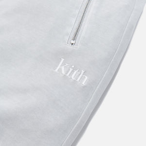 Kith Bleecker Crystal Wash Sweatpant - Oyster Mushroom Image 4
