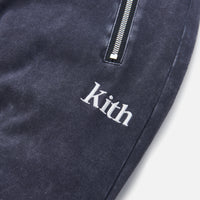 Kith Bleecker Crystal Wash Sweatpant - Moonless Night Thumbnail 1
