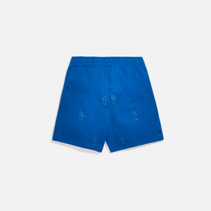 Kith for Major League Baseball Los Angeles Dodgers Monogram Short - Royal