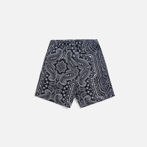 Kith Hardaway Silk Cotton Short - Black / Multi Image 3