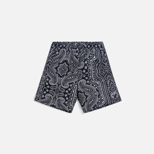 Kith Hardaway Silk Cotton Short - Black / Multi Image 1