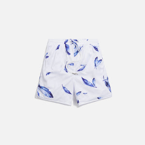Kith Jordan Feather Print Mesh Short - White