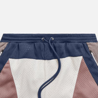 Kith Turbo Mesh Short - White / Multi Thumbnail 1