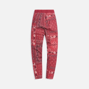 Kith Deconstructed Bandana Williams I Sweatpant - Pyre