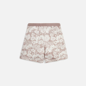 Kith Aster Floral Active Short - Dusty Mauve