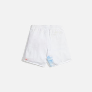 Kith Tie Dye Jordan Short - White / Red