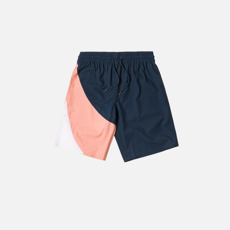Kith Coney Swim Trunk - Navy / Pink