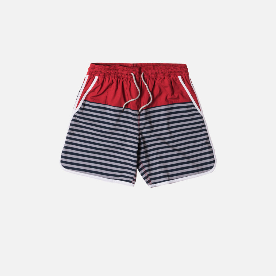 Kith Rockaway Short - Red / Navy