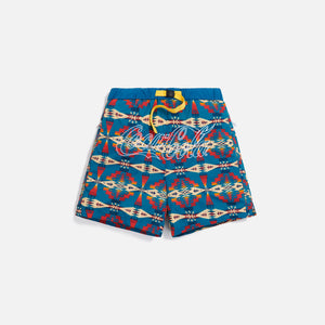 Kith x Coca-Cola x Pendleton Swim Short - Teal / Multi