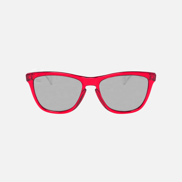Kith x Oakley Prizm Frogskin Sunglasses - Red / Black