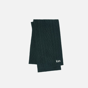 Kith Abingdon Cable Scarf - Scarab Image 1