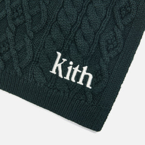 Kith Abingdon Cable Scarf - Scarab Image 3