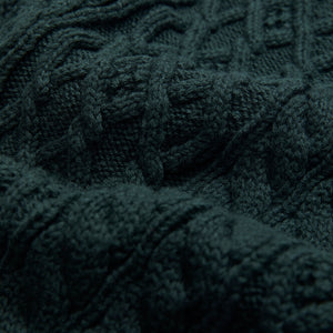 Kith Abingdon Cable Scarf - Scarab Image 4