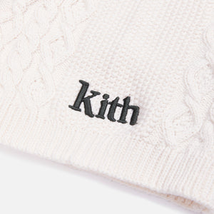 Kith Willis Cable Gaiter - Ivory
