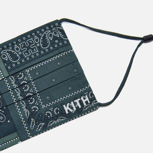 Kith Deconstructed Bandana Washable Face Mask - Stadium