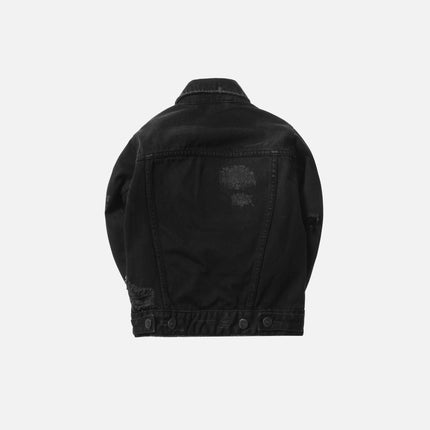 Kith Kids Laight Denim Jacket - Black