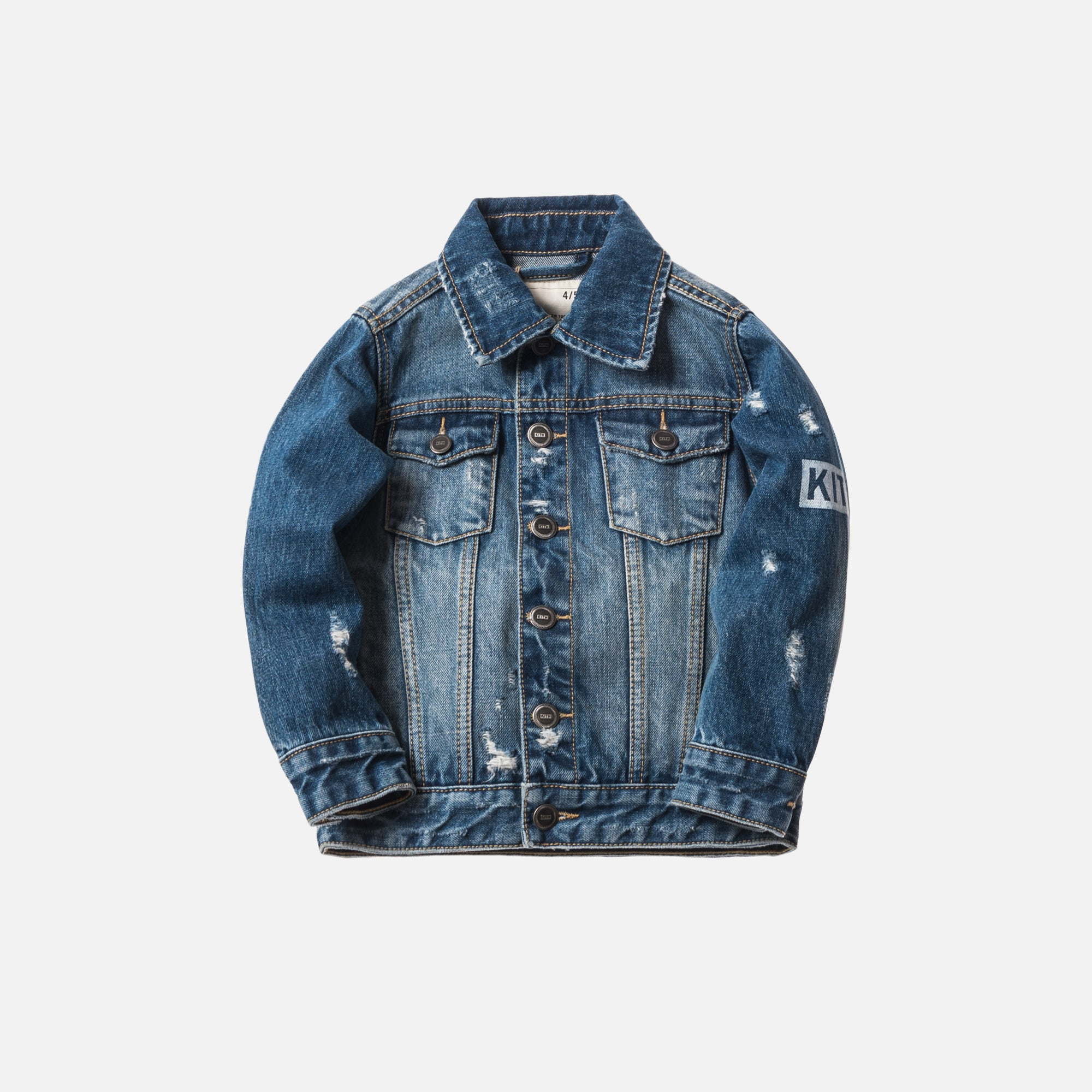 Kith Kids Laight Denim Jacket - Stella Blue