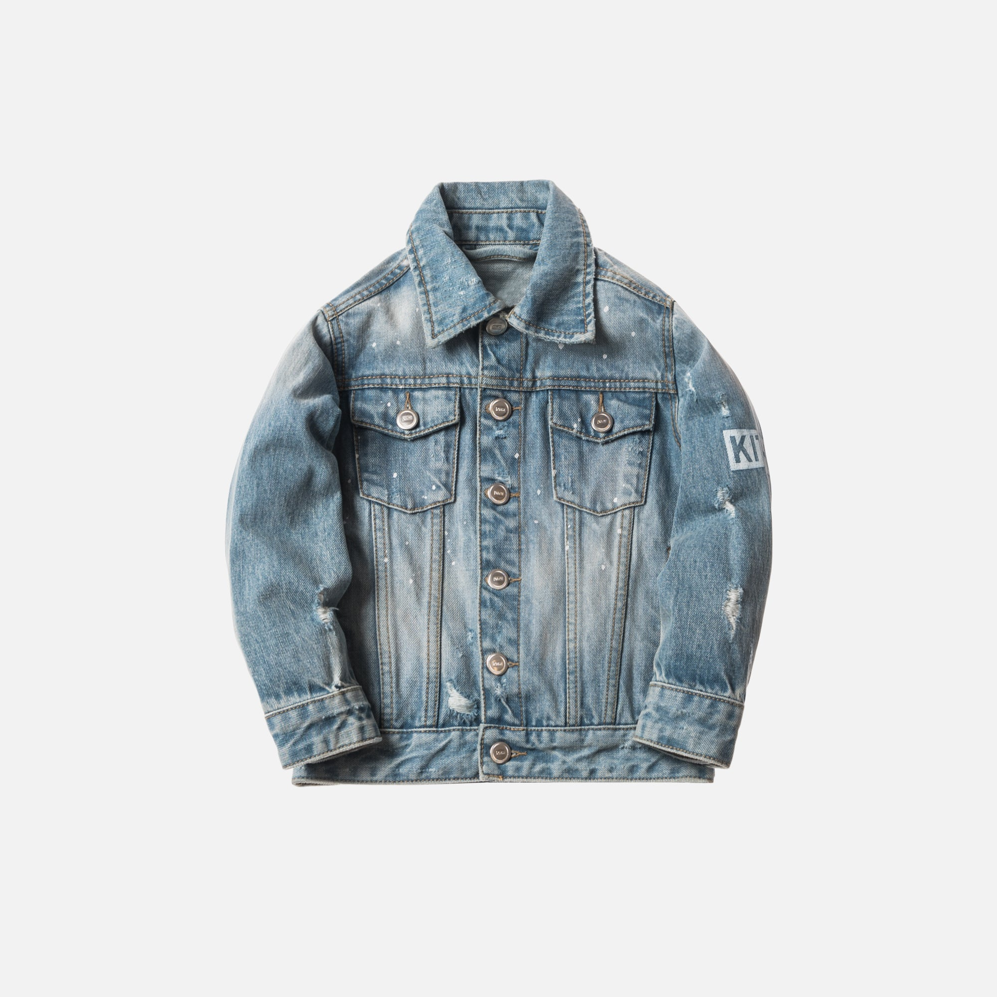 Kith Kids Laight Denim Jacket - Hosu Blue
